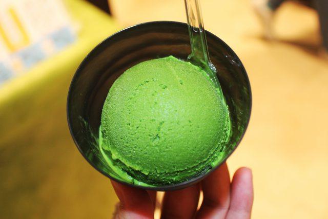 壽々喜園の世界一濃い抹茶アイス